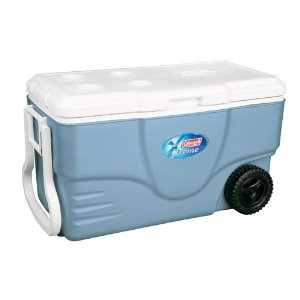Coleman 62-Quart Xtreme Wheeled Cooler (Blue)