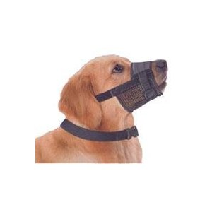 """Adjustable Dog Grooming Muzzle - MEDIUM, fits snout size 6""""-7 1/2"""""""