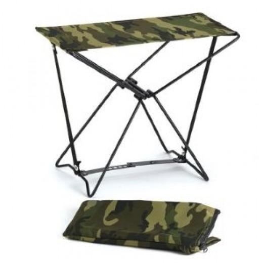 Camouflage Folding Camp Stool