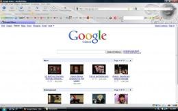 Google Video Main Page