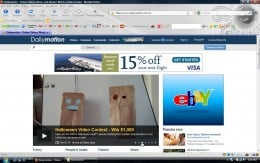 DailyMotion Main Page