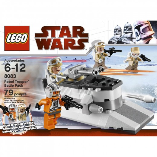 LEGO Star Wars 8083 Rebel Trooper Battle Pack - Box