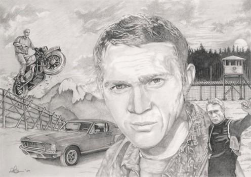 Steve McQueen montage