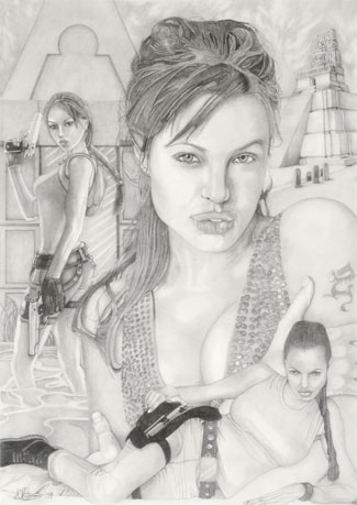 Angela Jolie/Tomb Raider montage