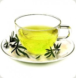 The immensly nutritious green tea
