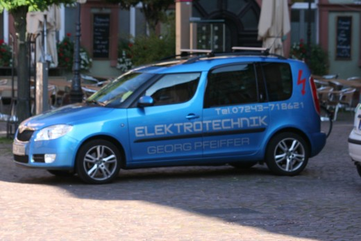 Energy company car