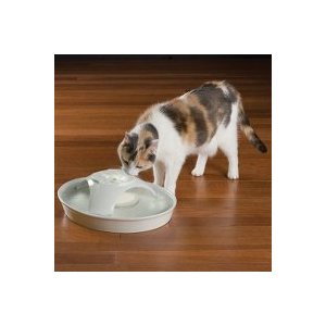 Continuously Filtered Water Ceramic Pet Drinking Fountain