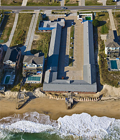Dolphin Motel is an oceanfront motel located at the 16.5 Milepost in Nags Head, NC on the sparkling blue Atlantic Ocean and one of the world's most beautiful beaches is just a few sandy steps from your room.