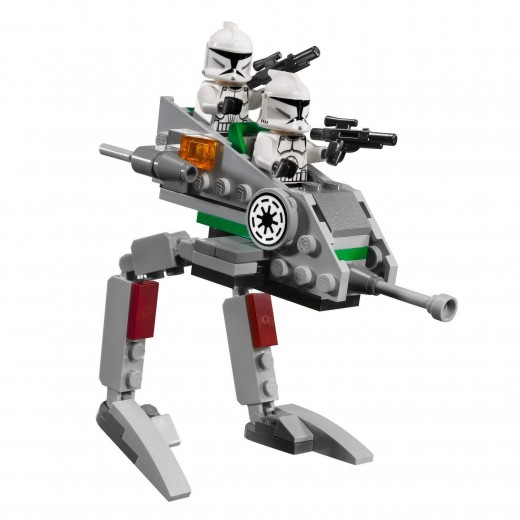 LEGO Star Wars 8014 Clone Walker Battle Pack - the walker