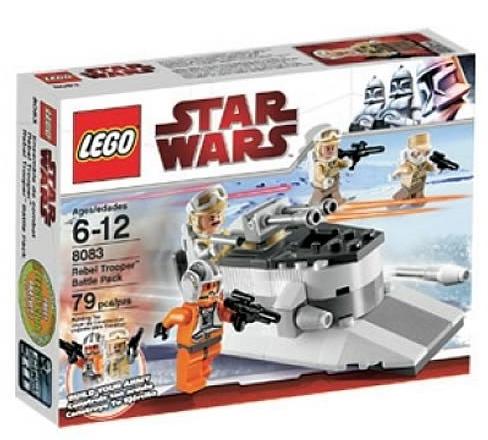 LEGO Star Wars 8083 Rebel Trooper Battle Pack box