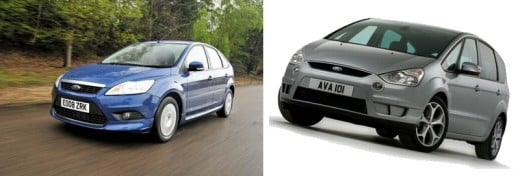 Ford Focus UK Version and Ford S-Max