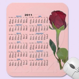 See all of these mousepad calendars plus wall calendars by clicking on the source link below.