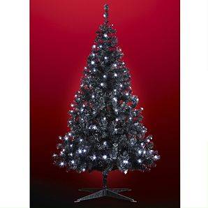 Asda 6ft Black Pre-Lit Tree for 35 You can select a convenient delivery date at the checkout for this product.