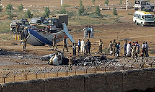 Plane crash in Karachi