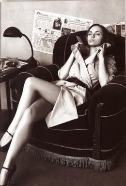 Femme Fatale, Christina Ricci Showing us the sexier side of the Trench!