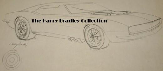Camaro pencil sketch