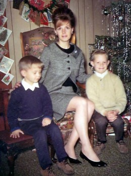 Me with Randy and Doug in the mid 60s