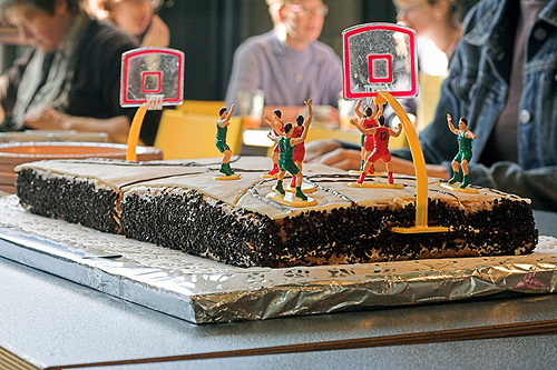 Basketball Cake with Cake Topper Kit