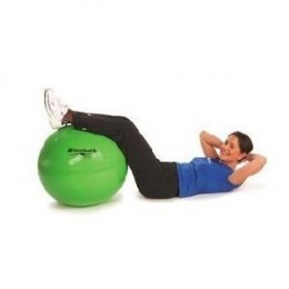 Using an exercise ball for training develops core strength and flexibility to help keep muscles and joints functional and safe from injury. With exercises as simple as sitting on the ball and bouncing lightly, core strength is developed as your body