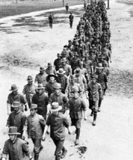 When the cause as seen as right, people will volunteer to conscription in the millions, When it is not, there will be a forced draft conscription.