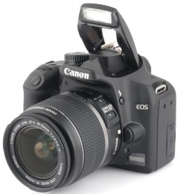 buy Canon EOS 1000D Digital SLR online. For more options on online dslr camera buying, look below