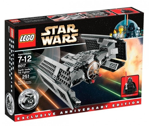 LEGO Star Wars 8017 Darth Vader's TIE Fighter: Box