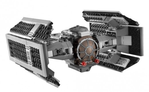 LEGO Star Wars 8017 Darth Vader's TIE Fighter: The TIE Advanced x1