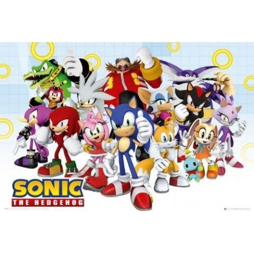 Sonic Group Poster