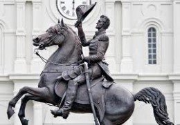 Andrew Jackson. Not such a great man if you were Native American.