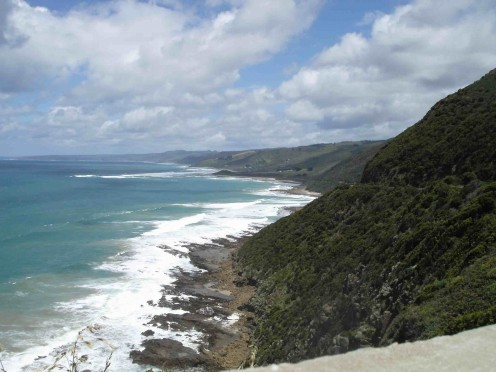 Toward Apollo Bay