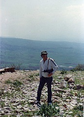 hank guarding the Galilee