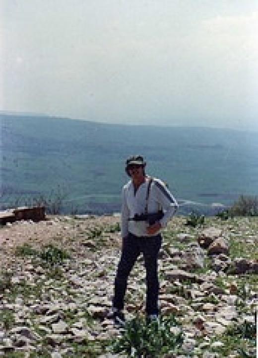 hank guarding the Galilee