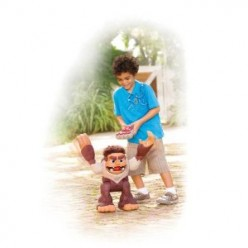 Best Gift: Fisher-Price Brand Name Imaginext BIGFOOT (Big Foot) Battery Powered Monster RC Robot Toy