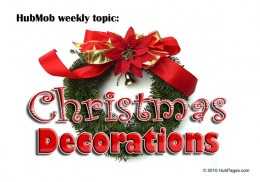 HubMob Weekly Topic: Christmas decorations