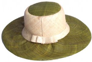 Straw hat handmade from raffia from Madagascar Online price:  £15.00+ £3 shipping per orde