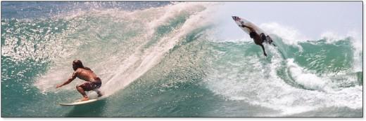 Arugambay International class surf beach, South-eastern Coast, Sri Lanka