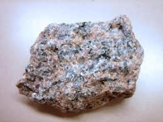 Typical Granite Rock
