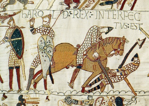 Bayeux Tapestry detail