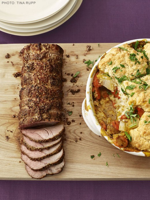 Pork Loin - Herb Crusted Roast Pork Tenderloin