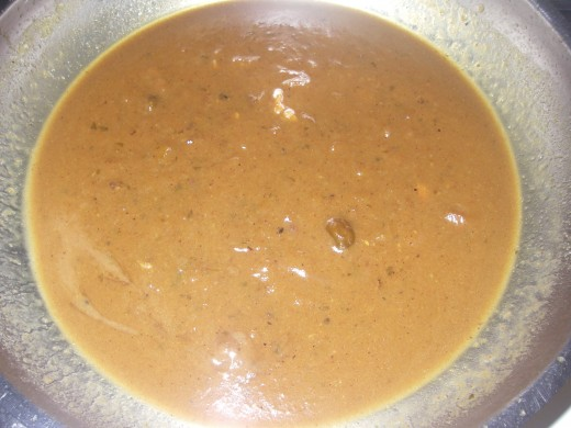 Pour stock marinade mixture into heavy base pan and reduce to make gravy like sauce.