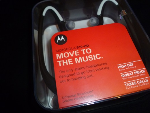 Motorola S10-HD Stereo Bluetooth Headphones