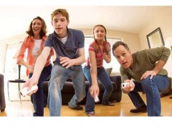 Family playing wii, courtesy of futurelooks.com