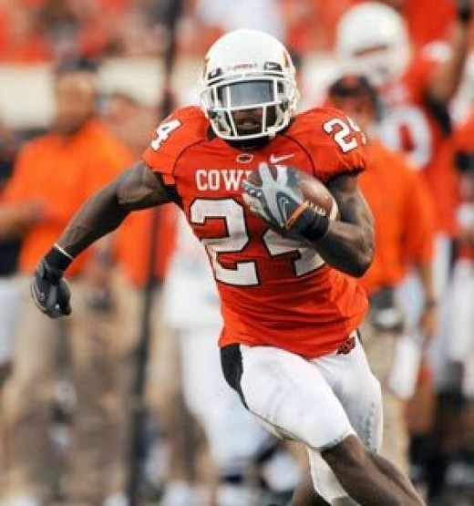RB Kendall Hunter (Oklahoma State)