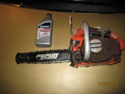 Chainsaw Dreams, Reconditioning An Old Echo Chain Saw