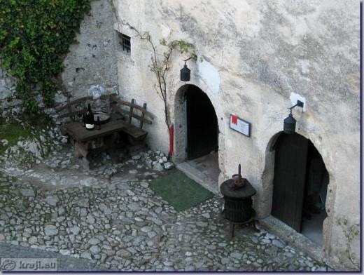 Bled  Castle Wine Cellar