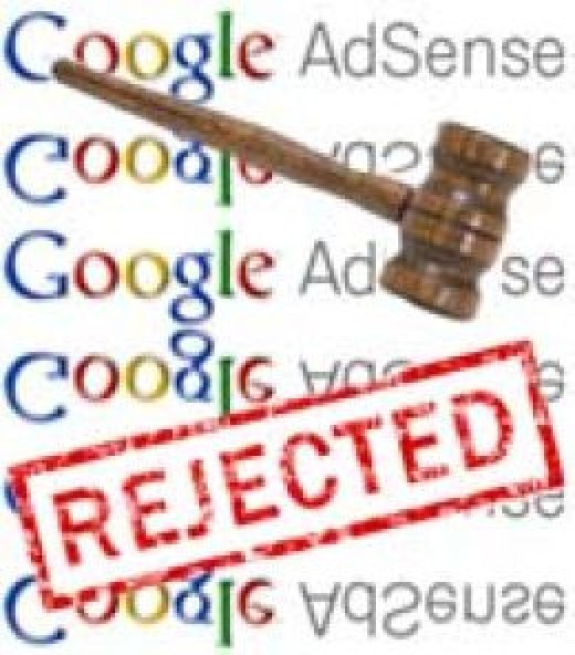 Google adsense account rejected, read this