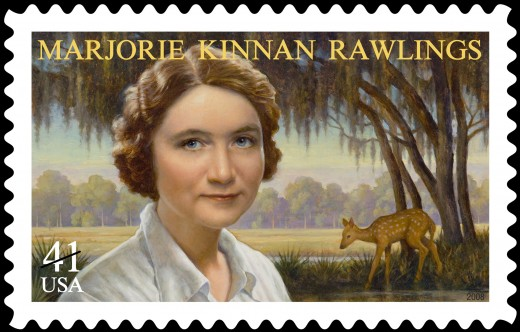 A stamp commemorating Marjorie Kinnan Rawlings was issued by the United States Postal Service 2n 2008