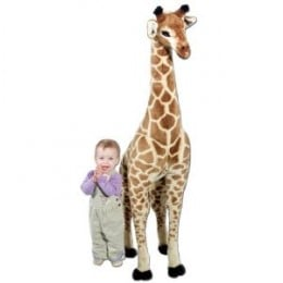 This Stuffed Giraffe Toy is Awesome!