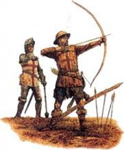 The English longbowman of 1415