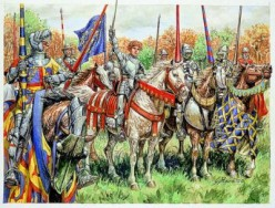 French knights of 1415